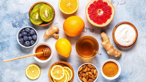 Healthy products for Immunity boosting and cold remedies